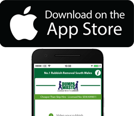 Download dumpawaste on the App Store homepage
